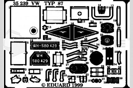 Eduard - VW Beetle type 87 (cmk)