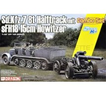 Dragon - SdKfz 7 & sFH18 howitzer