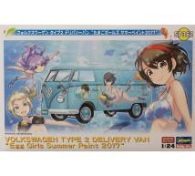 Hasegawa - Combi VW Egg Girl