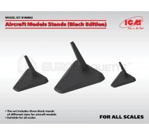Icm - Aircraft stands black edition (x3)