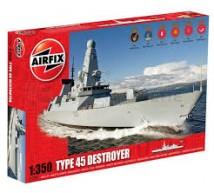 Airfix - Type 45 Destroyer RN 1/350