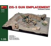 Miniart - Zis 3 Gun emplacement