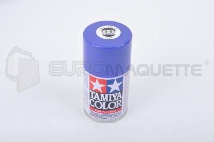 Tamiya - Bleu Violet Brillant TS-57 (bombe 100ml)