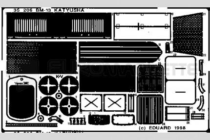 Eduard - BM-13 Katyusha  (alan)