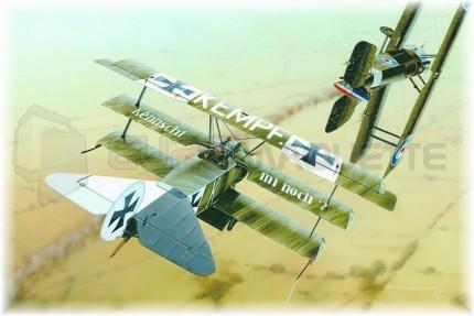 Eduard - Fokker DR I (profipack)