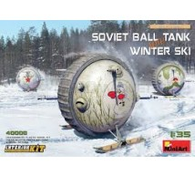 Miniart - Ball tank & winter ski