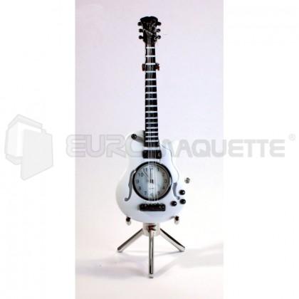 Siva - Guitare horloge blanche
