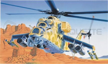 Italeri - Mil Mi- 24 D/E Hind