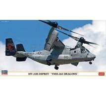 Hasegawa - MV-22 B Osprey VMM-265 Dragons