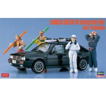 Hasegawa - Lancia Delta HF figures & Skis