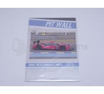 Pit Wall - Oak Pesca Racing LMP2 LM2011
