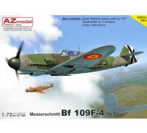 Az model - Bf-109F-4 Spanish services