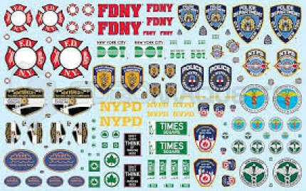 Amt - NYC services decals