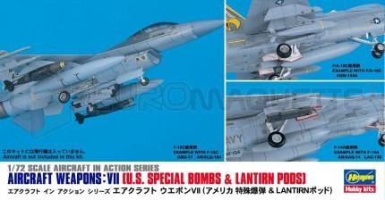 Hasegawa - US aircraft weapons