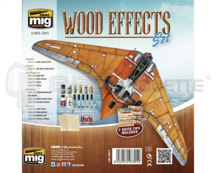 Mig products - Coffret Wood Effect