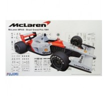 Fujimi - Mc Laren MP4/6 Brazil 1991
