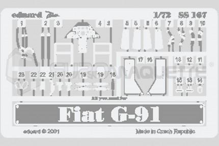 Eduard - Fiat G-91 (revell)