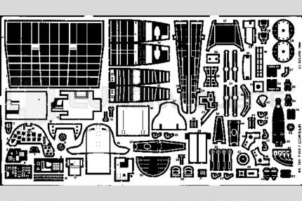 Eduard - F4U-1 Corsair(hobby/academy)