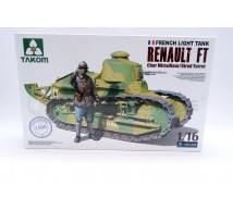 Takom - Renault FT girod turret