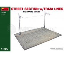 Miniart - Section de rue & tram lines