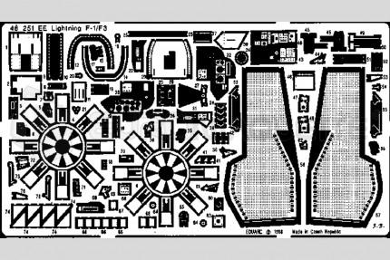 Eduard - Ligthning  F-1/F3      (airfix)
