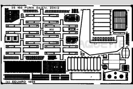 Eduard - SdKfz 234/2 Puma (italeri)