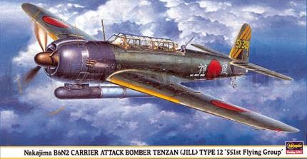Hasegawa - B6N2 551st FG