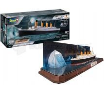 Revell - Titanic & Puzzle 3D iceberg