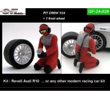 Gf Models - Pit crew& roue (2)