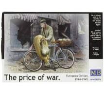 Master box - Bicycle & civil WWII