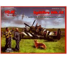 Icm - Spitfire Mk IX & Ground personnel