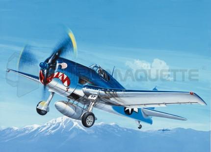 Italeri - F6F-3 Hellcat