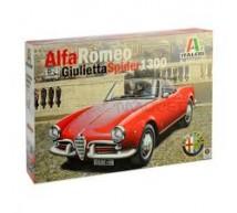 Italeri - Alfa Guilietta Spider 1300