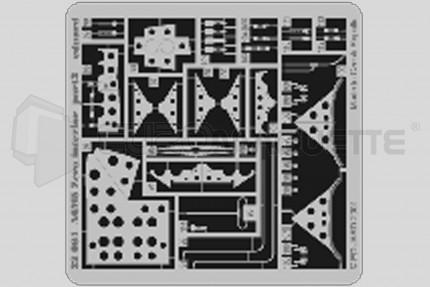 Eduard - A6M5c Zero interieur (tamiya)