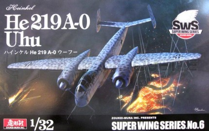 Zoukei mura - He-219 A-0