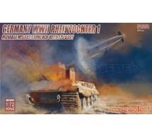 Model collect - Rheintochter & E-75 body