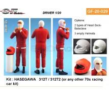 Gf Models - Pilote F1 année 90/2000 1/20