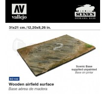 Vallejo - Wodden airfield surface