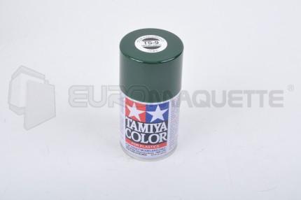 Tamiya - Vert Anglais Brillant TS-9 (bombe 100ml)