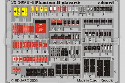 Eduard - F-4 Phantom Placards