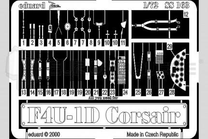 Eduard - F4U-1D Corsair (tamiya)