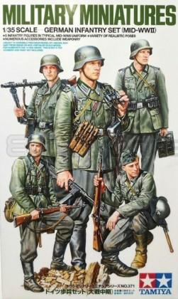 Tamiya - German infantry set Mid WWII