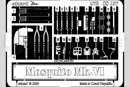 Eduard - Mosquito Mk VI (tamiya)