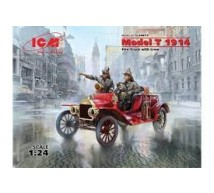 Icm - Ford Model T 1914 pompier & equipage