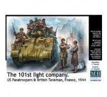 Master box - 101st light company France 1944