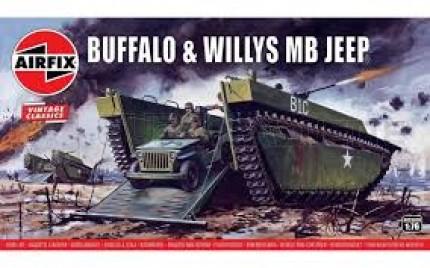 Airfix - Buffalo & Jeep (Vintage édition)