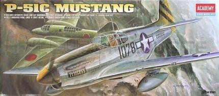 Academy - P-51 C Mustang
