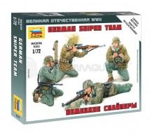 Zvezda - WWII German sniper team