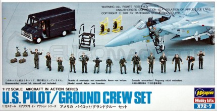 Hasegawa - Pilotes & meccanos US