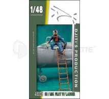 Djiti production - Su/Mig pilot & ladder